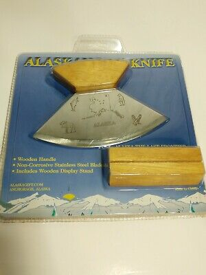 THE ALASKAN ULU KNIFE BRAND NEW SEALED Anchorage,Alaska