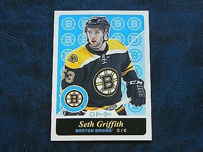 2015-16 15/16 O-Pee-Chee OPC RETRO 249 Seth Griffith Boston Bruins