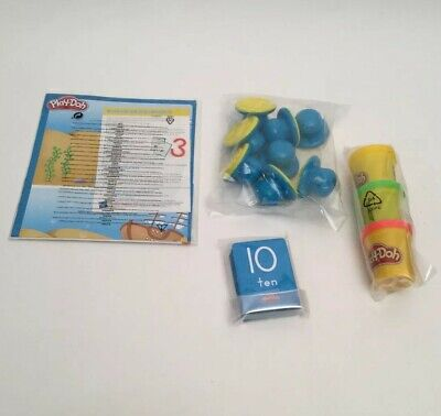 Play-Doh Shape & Learn Numbers and Counting Developmental Educational Toy New
