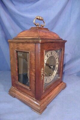 Vintage British Garrard Bracket 8 day Westminster Chiming Clock - working