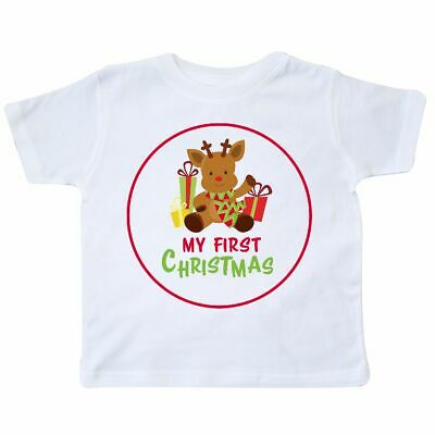 d4e5302d5 Inktastic My First Christmas Toddler T-Shirt Reindeer Cute Presents Gifts  Scarf