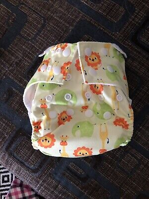 2 x Bambooty MCN Cloth Nappies One Size OSFM