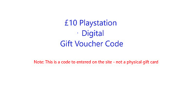 PSN GIFT CARD UK - Buy PlayStation Network gift cards online