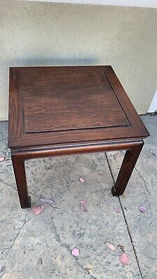 Antique Chinese Wood Carved Hardwood  Chinese Table Rosewood