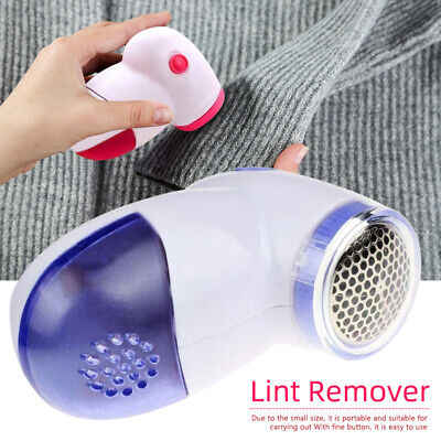 1/2pc Portable Electric Lint Pill Fuzz Remover Pilling Fluff Clothes Shaver