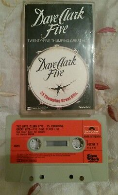 Dave clark five 25 thumping great hits cassette album