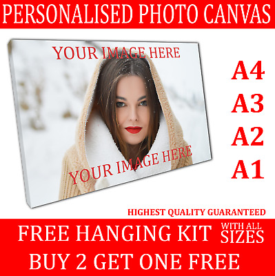 Personalised photo canvas prints Ready to Hang Your photo on canvas print
