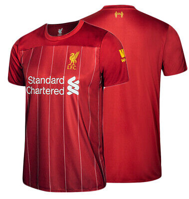 100% Official License 2019/2020 LFC Liverpool FC Supporter Jersey Shirt Red Home