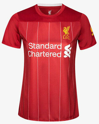 100% Official License 2019/2020 LFC Liverpool FC Supporter Jersey Shirt Women