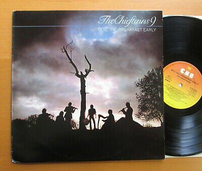 The Chieftains 9 Boil The Breakfast Early 1979 CBS 84081 NM/EX