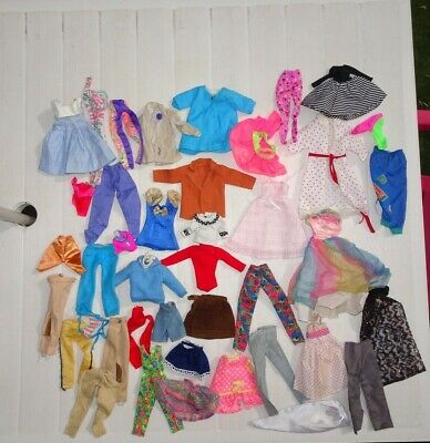 Vintage Doll's Clothes Bundle Sindy Clothes 70s 80s 90s Daisy Tressy Action Girl