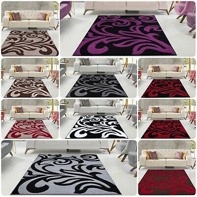 New Florence Small Extra Large Carved Quality Thick Floor Carpet Runner Rugs Mat