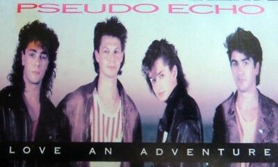 Pseudo Echo  Love an Adventure  Audio Cassette