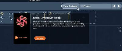 IZOTOPE NECTAR ELEMENTS - All Vocal Production Tools! PC