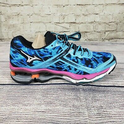 9bc4906607fd MIZUNO WAVE CREATION 15 Women's Running Shoes Red/Lime/Pink 410568.8 ...