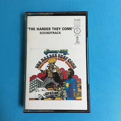 THE HARDER THEY COME - Jimmy Cliff - RARE 1972 Cassette Album