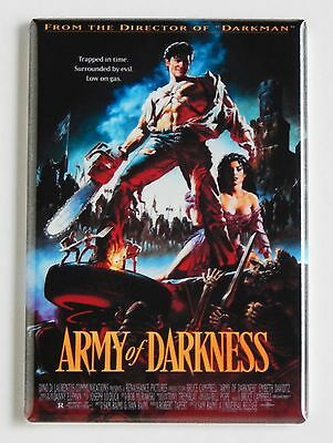 Army of Darkness FRIDGE MAGNET (2 x 3 inches) movie poster bruce campbell