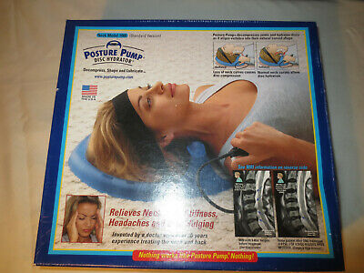 Posture Pump 1000 Neck Disc Hydrator Cervical Spine Therapy Traction Device