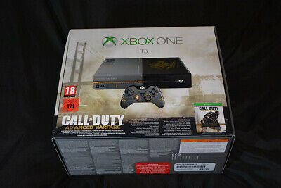 NEW Xbox One Call Of Duty Advanced Warfare Limited Edition Console & Controller