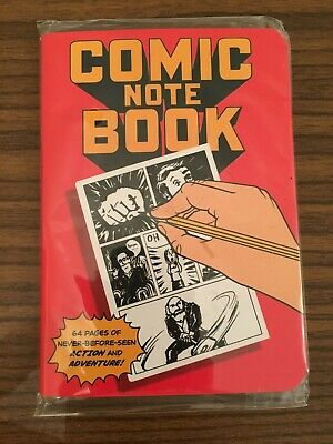 Carnet de notes Comic Book Notebook Neuf Loot Crate Marvel DC Poche