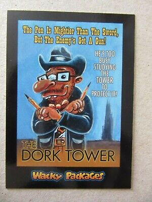 The Dark Tower Sticker, Wacky Packages Go To The Movies, Topps, Stephen King, Ka