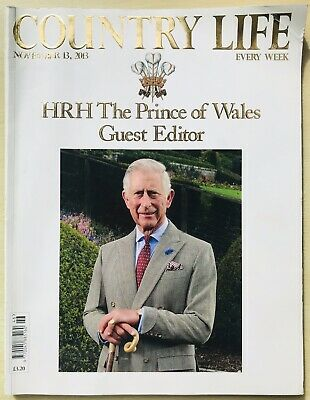 Country Life Magazine Hrh The Prince Of Wales Guest Editor Issue 13 Nov 2013