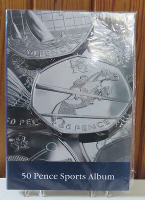 LIGHTHOUSE  OLYMPIC 50p LONDON 2012 COLLECTORS ALBUM 29 SPACES NEW AND SEALED