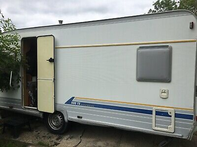 Burstner avantegarde 500TS touring caravan and accessories