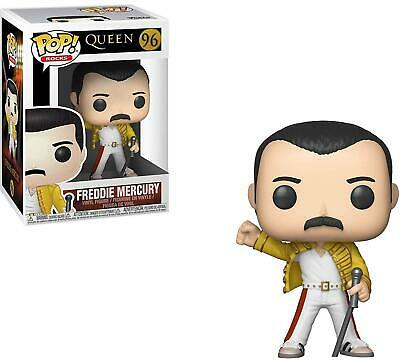 Queen #96 - Freddie Mercury Wembley 1986 - Funko Pop! Rocks (Brand New)