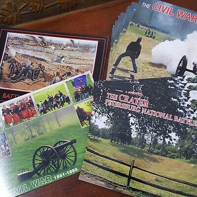 Postcard Civil War Virginia Lot 30 unused history Petersburg Fredericksburg
