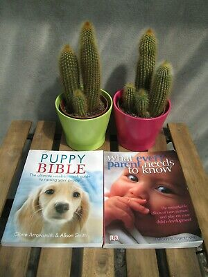 Bundle of 2 books 'Puppy' and 'Baby/Child' - very good condition!