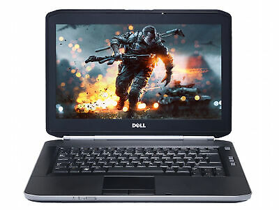 "Cheap Dell Gaming Laptop 14"" Intel Core i5 3.30Ghz, 8GB, SSD, Win 10 HDMI"