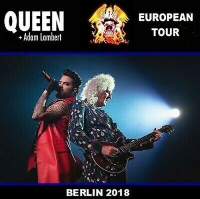 Queen Adam Lambert Live Berlin 2018 2 Cd