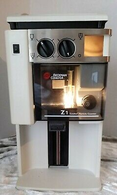 Beckman Coulter Z1-D Particle Counter, Controller, Power Cord
