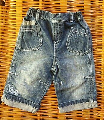 Next Baby Boys Jeans elasticated waist 3-6 months