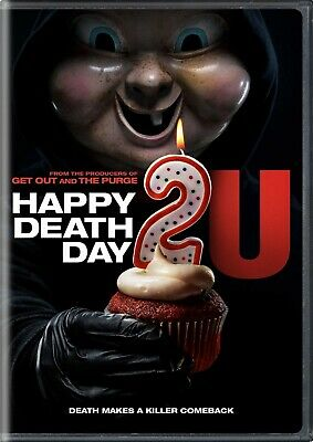 Happy Death Day 2U (DVD, 2019) * Jessica Rothe * Incl'd SLIP-COVER