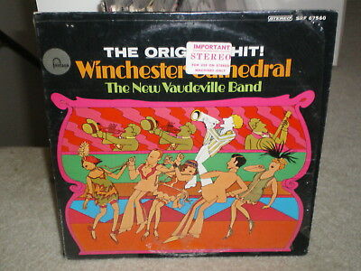 The New Vaudeville Band-Winchester Cathedral In Shrink Stereo Original 1St Press