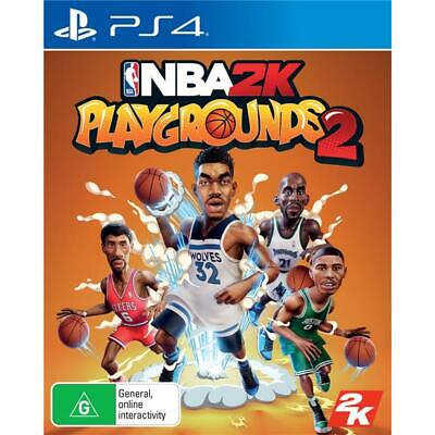 NBA 2K Playgrounds 2 PlayStation 4 PS4 GAME BRAND NEW FREE POSTAGE