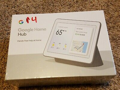Google Home Hub - Smart Home Controller with Google Assistant; Charcoal: NEW!
