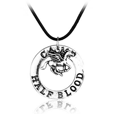 Percy Jackson Necklace CAMP HALF BLOOD Flying Horse Pendant Movies Jewelry Gift