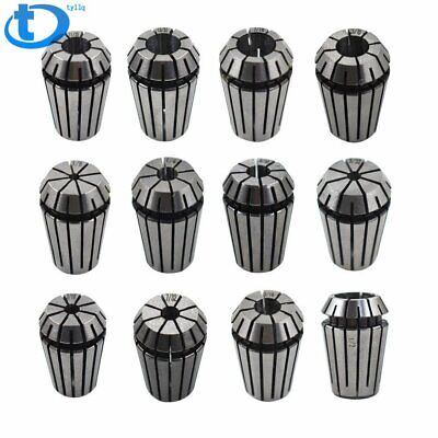 12pcs Spring Collet Set for CNC Workholding Engraving milling Lathe Tool ER20