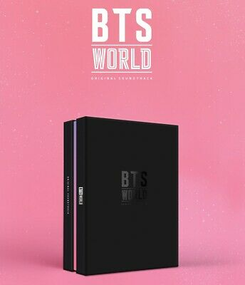 BTS [ WORLD OST ] album CD + PHOTOCARD + LENTICULAR + POSTER + TRACKING, SEALED