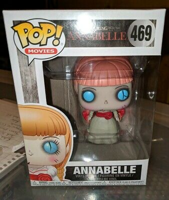 Funko Pop Movies Horror S4 The Conjuring Annabelle Vinyl Figure #469