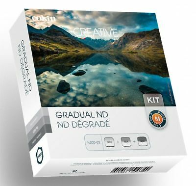 Cokin P Series Grad ND Filter Kit H300-02 ND2 ND4 ND8 P121 P121M P121L New Boxed