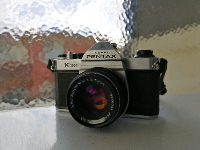 Pentax K1000 and 50mm f2 lens
