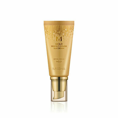 MISSHA ® M GOLD PERFECT COVER Cover BB Cream 50ml- #21 ANTI-FALTEN UV-SCHUTZ