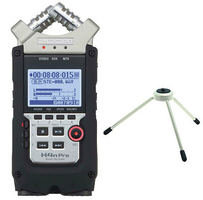 Zoom H4n pro Handy Recorder + TPS-3 Tripod Treppiede