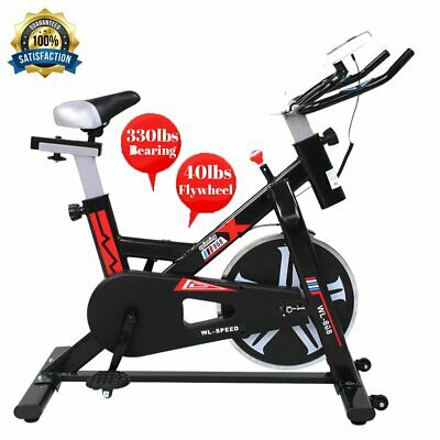 440lb Fitness Stationary  Exercise Bike Cardio Cycling Bicycle NEW