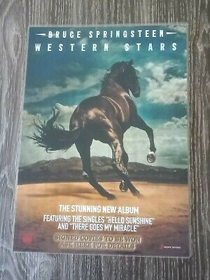 BRUCE SPRINGSTEEN - WESTERN STARS - Laminated Promotional Poster