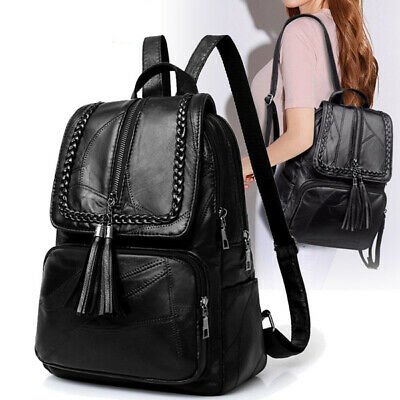 Ladies Hot Leather Travel Women Backpack Pu Bag School Bags Casual Backpacks sBQxordthC